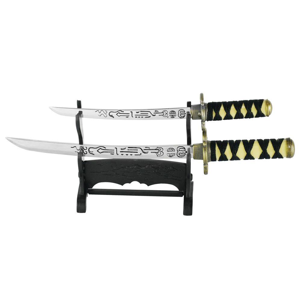 Jogo-Mini-Espadas-Decorativas-com-Suporte-2-Pecas