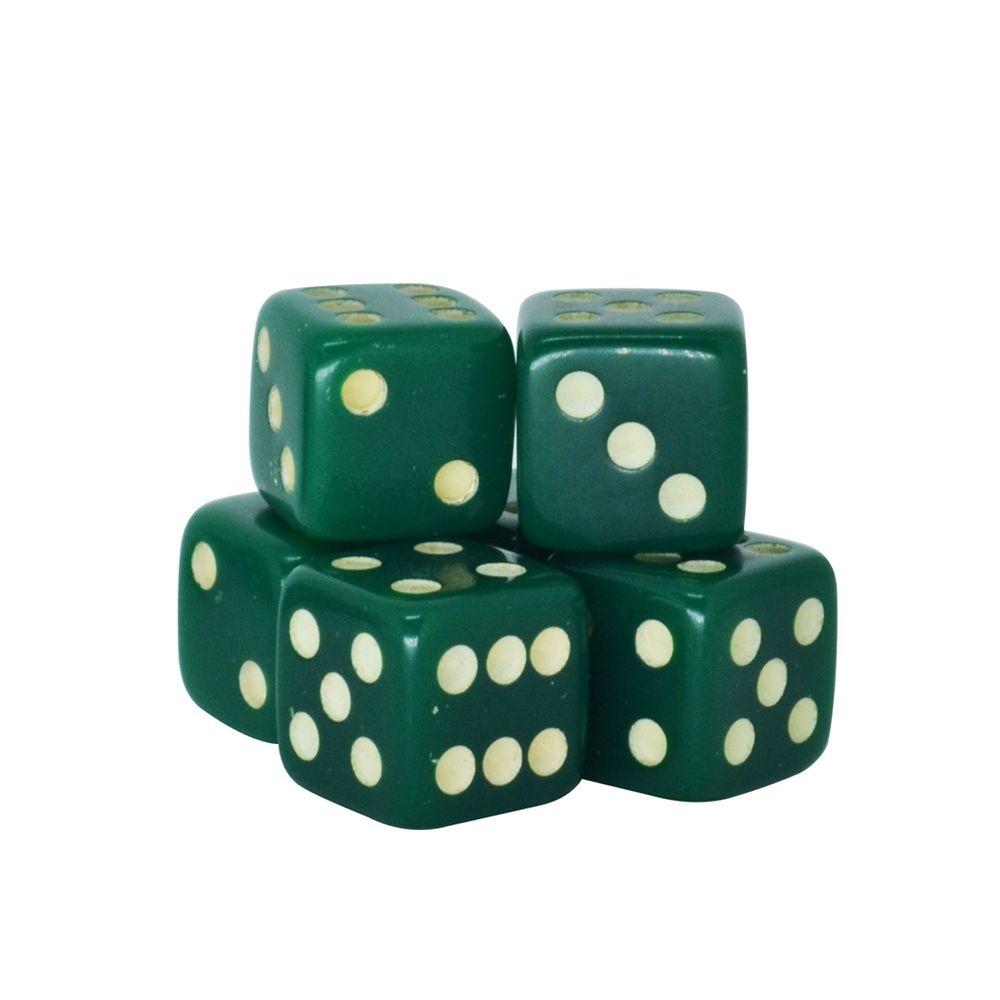 Dado-Poliester-Verde-16-mm---12-Pecas