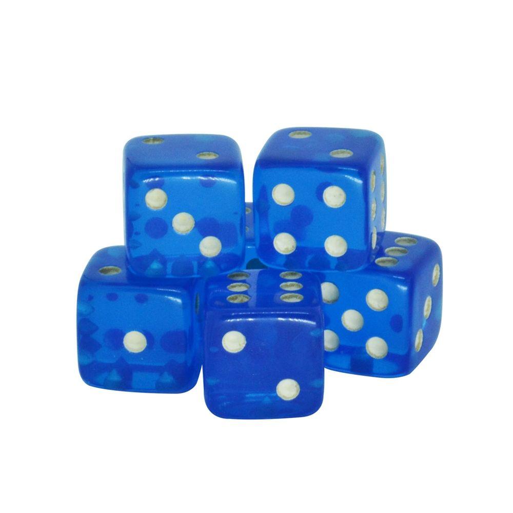 Dado-Poliester-Cristal-Azul-17-mm---12-Pecas