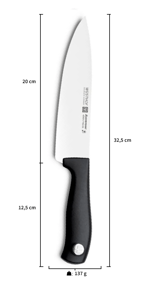 Faca Chef Silverpoint 8 - Wusthof