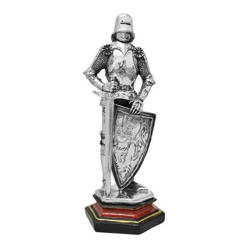 Cavaleiro-Medieval-com-Escudo-e-Espada-Prateado-21-Cm