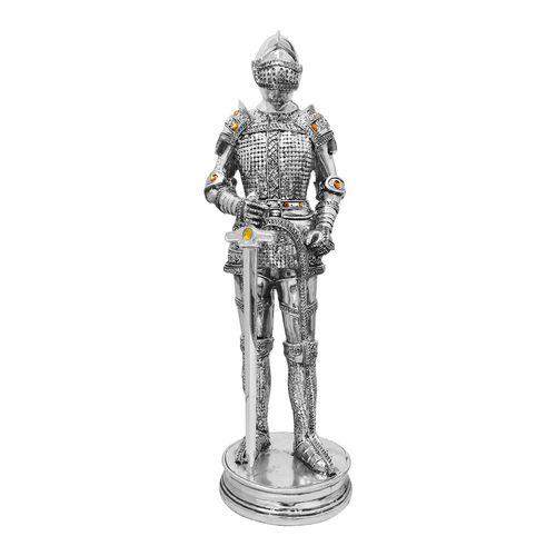 Cavaleiro-Medieval-com-Espada-Prateado-35-Cm-