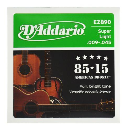 Encordoamento-Violao-Aco-Super-Ligth-.009-.045---D-Addario