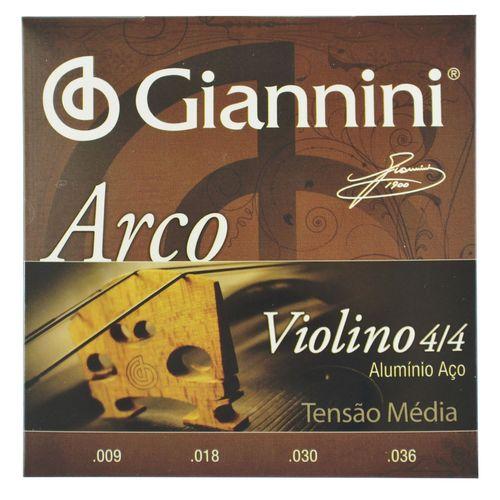 Encordoamento-Violino-4-4-Aluminio-Aco-.009-.036---Giannini