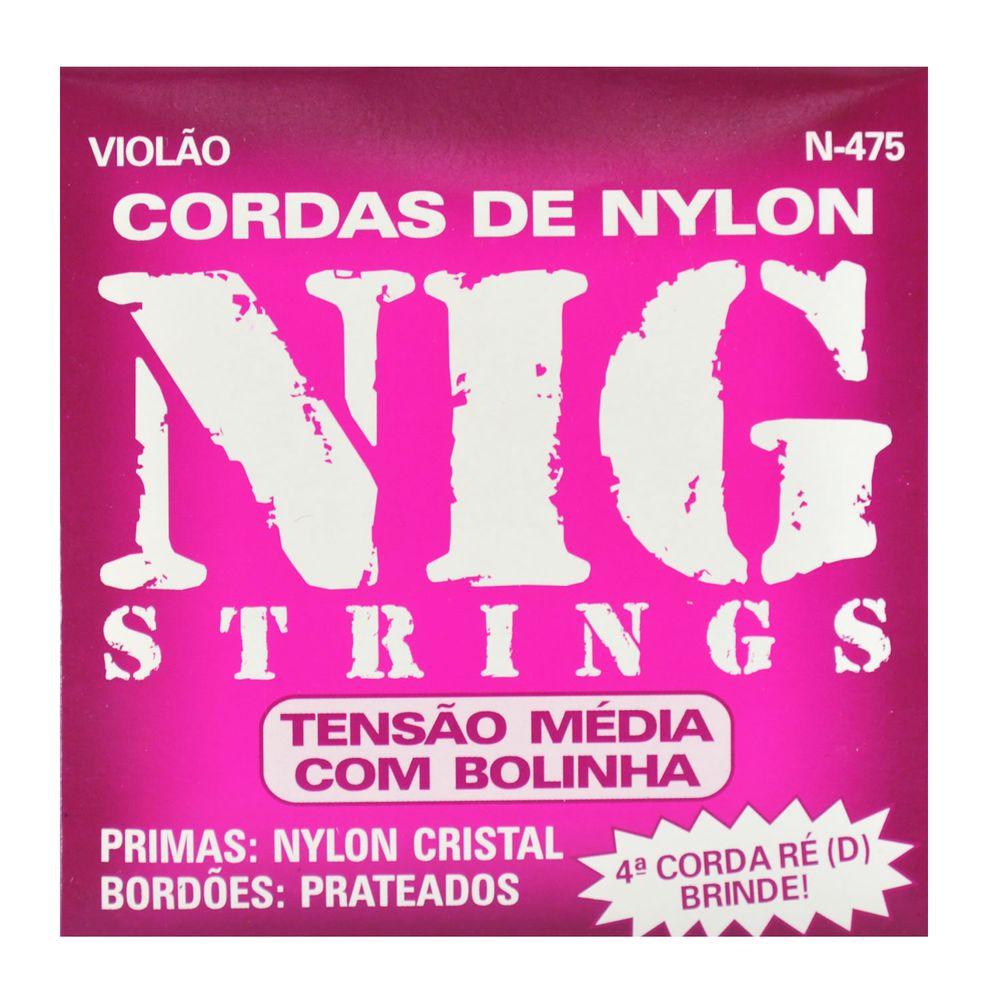 Encordoamento-Nylon-Cristal-para-Violao-com-Bolinha---Rouxinol