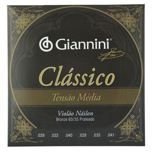Encordoamento-Nylon-para-Violao-Classico-Tensao-Media---Giannini