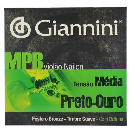 Encordoamento-Nylon-para-Violao-com-Bordoes-Dourados-e-Bolinha---Giannini
