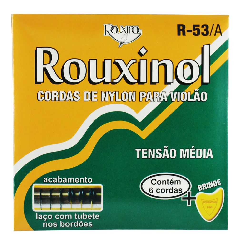 Encordoamento-Nylon-para-Violao-com-Tubete-nos-Bordoes---Rouxinol