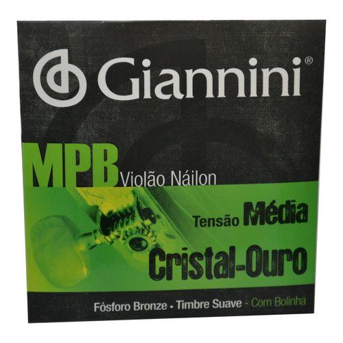 Encordoamento-Nylon-para-Violao-Cristal-Ouro-com-Bolinha---Giannini