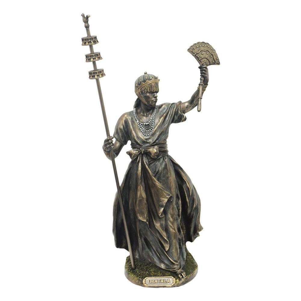 Estatua-em-Resina-Obatala-Oxala--Criador-da-Humanidade-31-cm