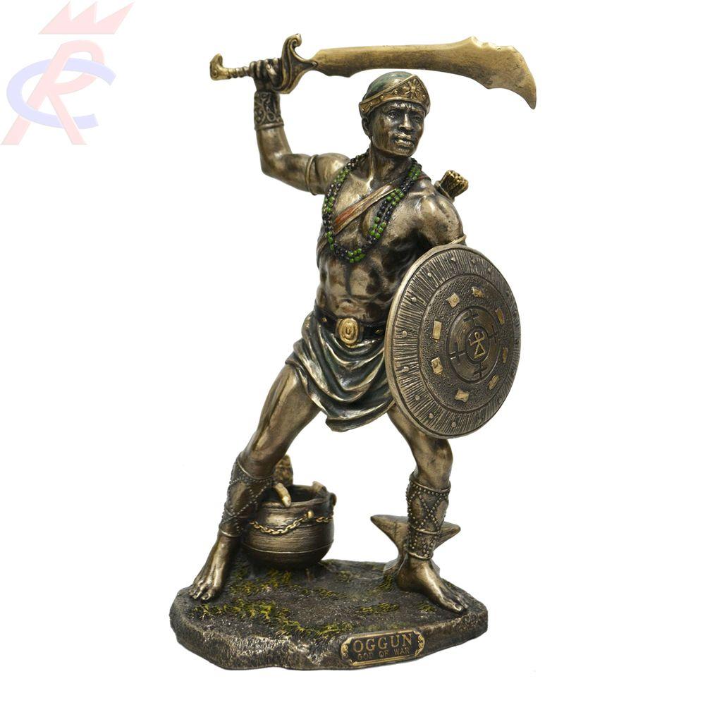 Estatua-em-Resina-Oggun-Deus-da-Guerra-23-cm