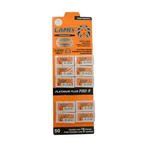 Lamina-Barbear-Platinum-Plus-50-Pecas---Lamix