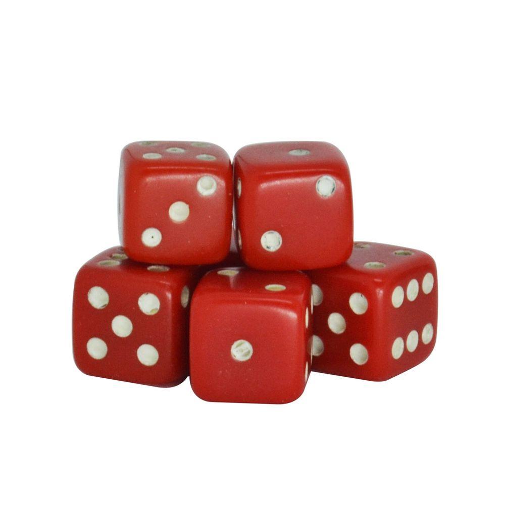 Dado-Poliester-Vermelho-14-mm---12-Pecas