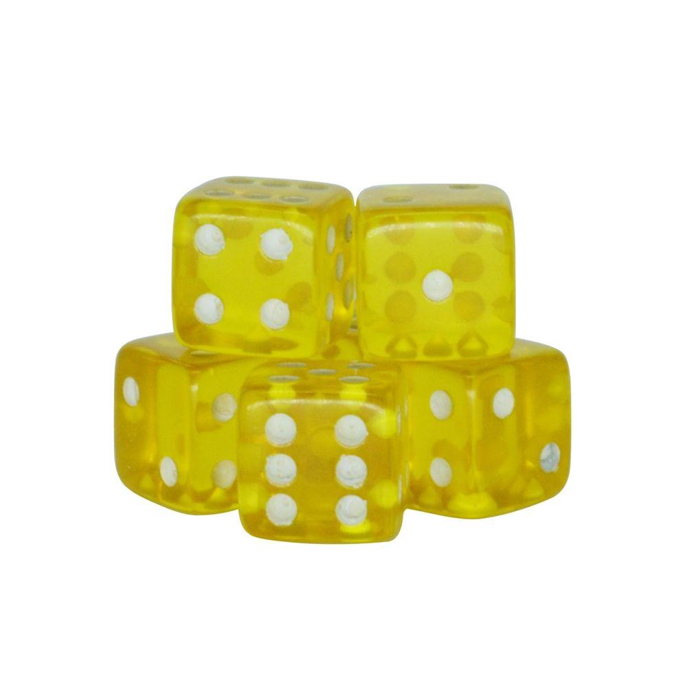 Dado-Poliester-Cristal-Amarelo-17-mm---12-Pecas