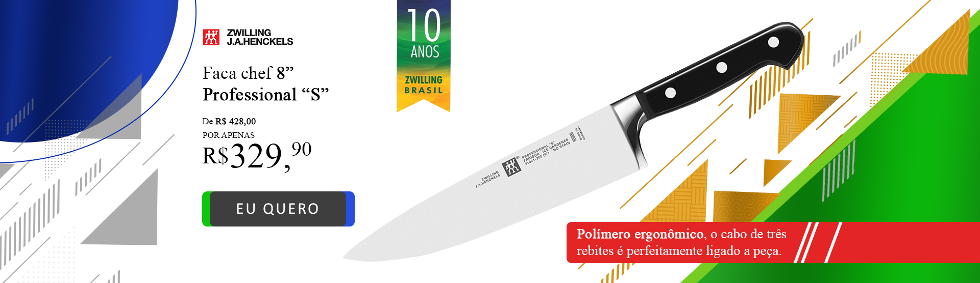Zwilling 10 Anos